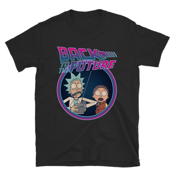 Rick And Morty Back To The Future T-shirt
