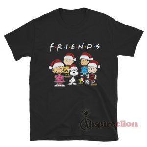 Snoopy And Friends Merry Christmas X-Mas T-Shirt