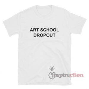 ART SCHOOL DROPOUT Rihanna Fila T-Shirt