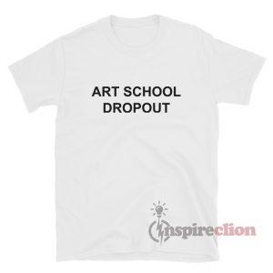 ART SCHOOL DROPOUT Rihanna Fila T-Shirt