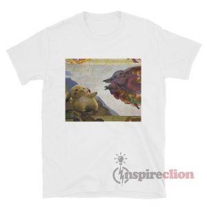 Michelangelo Pikachu X Baby Yoda T-shirt