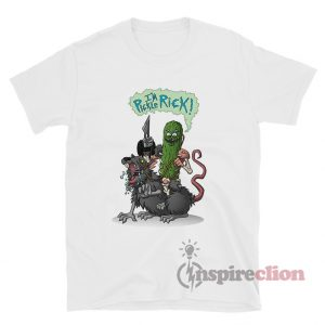 Pickle Rick Mouse Rats Modify T-shirt Rick And Morty