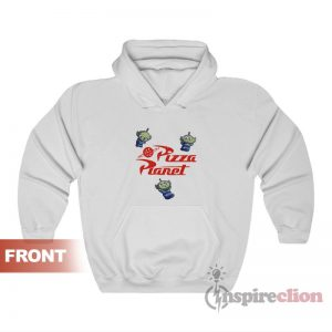 Pizza Planet Alien Toy Story Hoodies