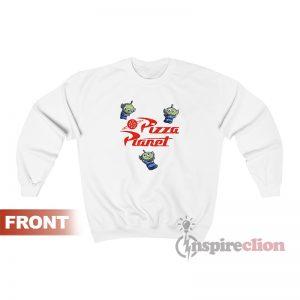 Pizza Planet Alien Toy Story Sweatshirt