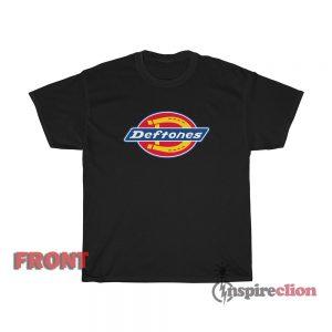 Deftones Dickies Logo T-Shirt