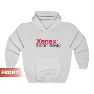 Anxiety Treatment XANAX Alprazolam Tablets Hoodie