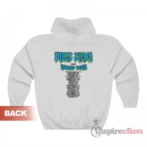 Billie Eilish World Tour 2019 Bulldog Hoodie