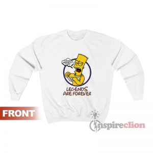 Bootleg Black Mamba Legends Are Kobe Sweatshirt