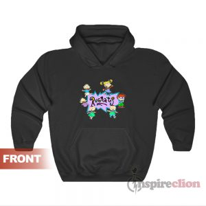 Rugrats Nick Logo And Characters Hoodie