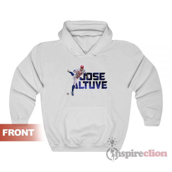 Jose Altuve Houston Astros Crew Player Hoodie