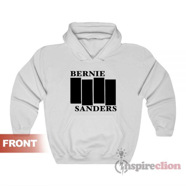 Bernie Sanders Black Flag Hoodie