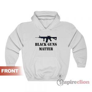 Black Guns Matter Hoodie Unisex