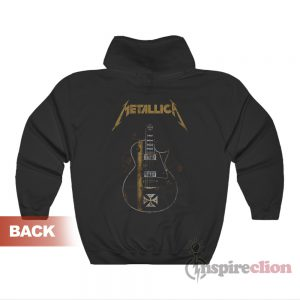 Metallica Hetfield Iron Cross Guitar Hoodie