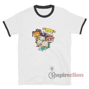 Nickelodeon Rugrats Character Ringer T-Shirt