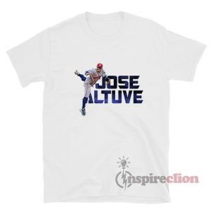 Jose Altuve Houston Astros Crew Player T-Shirt
