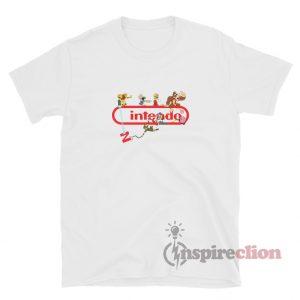 Super Nintendo Logo Game T-Shirt Unisex