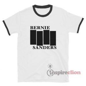 Bernie Sanders Black Flag Ringer T-Shirt