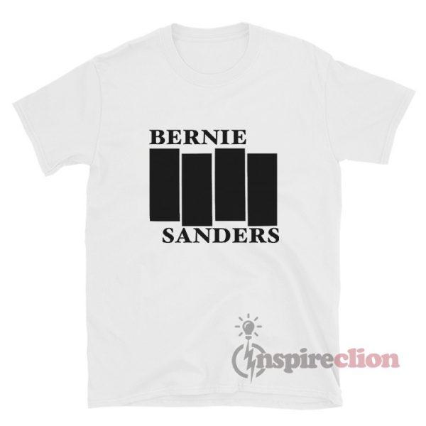 Bernie Sanders Black Flag T-Shirt