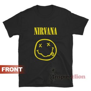 Vintage Nirvana Smiley Face Unisex T-Shirt