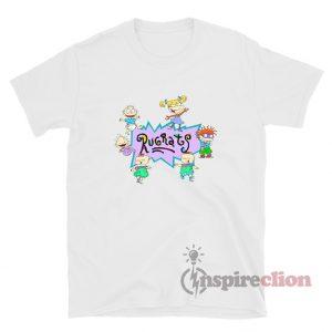 Rugrats Nick Logo And Characters T-Shirt