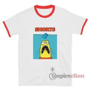 Bootleg Bart Simpson Ringer T-Shirt