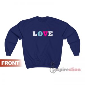 Savannah Guthrie Love Sweatshirt For Unisex