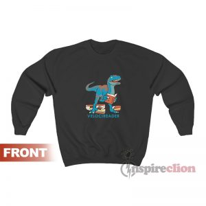 Velocireader Awesome Velociraptor Sweatshirt
