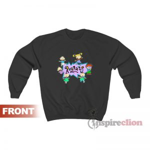 Rugrats Nick Logo And Characters Sweatshirt