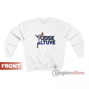 Jose Altuve Houston Astros Crew Player Sweatshirt