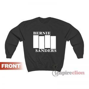 Bernie Sanders Black Flag Sweatshirt