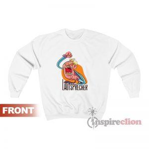 Lautsprecher Schreihals Funny Sweatshirt