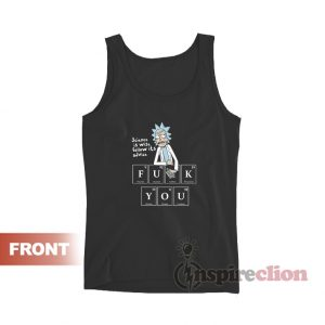 Rick and Morty Science Is Wise Tank Top
