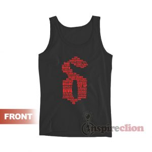 Shinedown Band logo Tank Top Unisex