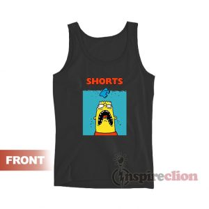 Bootleg Bart Simpson Funny Tank Top