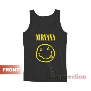 Vintage Nirvana Smiley Face Tank Top
