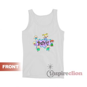 Rugrats Nick Logo And Characters Tank Top