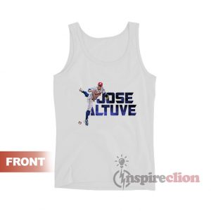 Jose Altuve Houston Astros Crew Player Tank Top