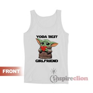 Baby Yoda Best Girlfriend Tank Top