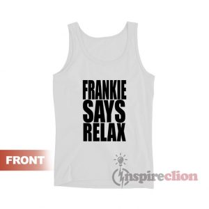 Frankie Says Relax Retro 80s Tank Top