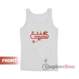 Super Nintendo Logo Game Tank Top Unisex