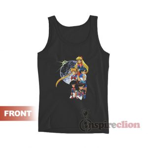 Vintage Sailor Moon Anime Tank Top