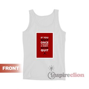 Michael Jordan Tank Top Quote Unisex