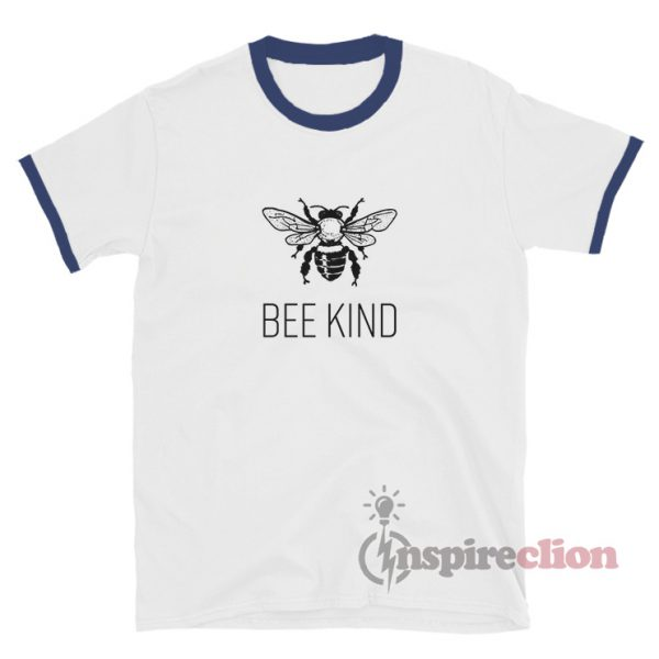 Bee Kind - Bee Conservation Ringer T-Shirt