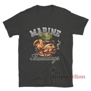 Get It Now Vintage Marine Bulldogs T-Shirt