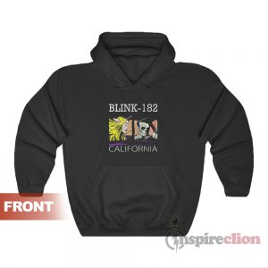 Get It Now Blink 182 California Hoodies