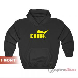Get It Now Coma Funny Logo Parody Hoodie