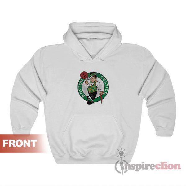 Boston Celtics Logo Mascot Hoodies For Unisex