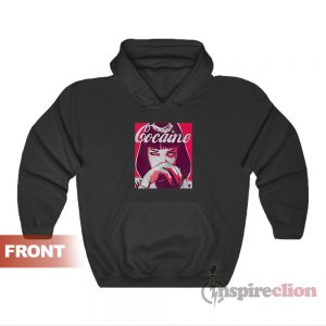 Get It Now Mia Wallace Cocaine Hoodies
