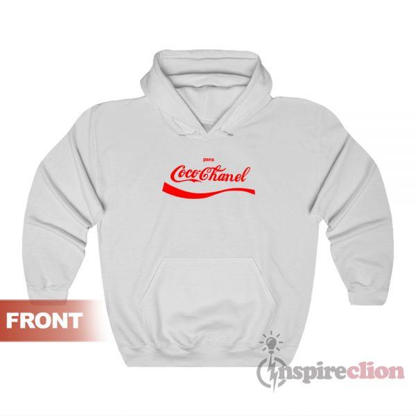 Coca Cola Coco Chanel Parody Hoodie