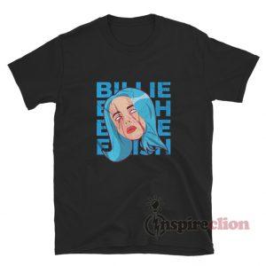 Billie Eilish Head T-Shirt Cheap Trendy Unisex